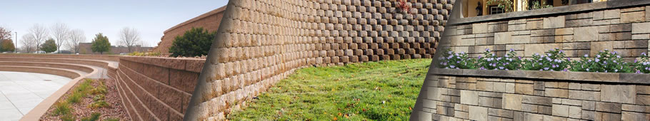 Commercial Retaining Wall Product